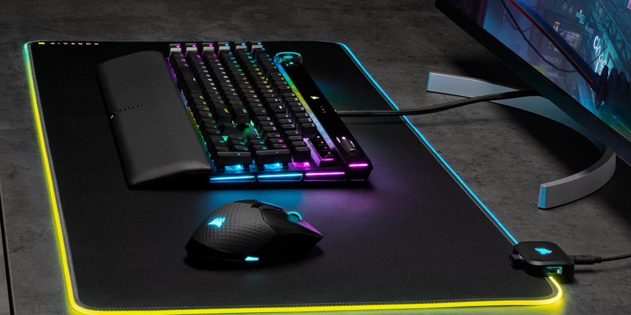CORSAIR presenta el ratón para juegos KATAR PRO XT y la alfombrilla MM700 RGB