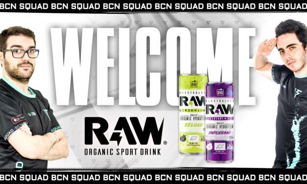 El equipo BCN Squad se une a RAW Superdrink en la mayor liga profesional de eSports del país