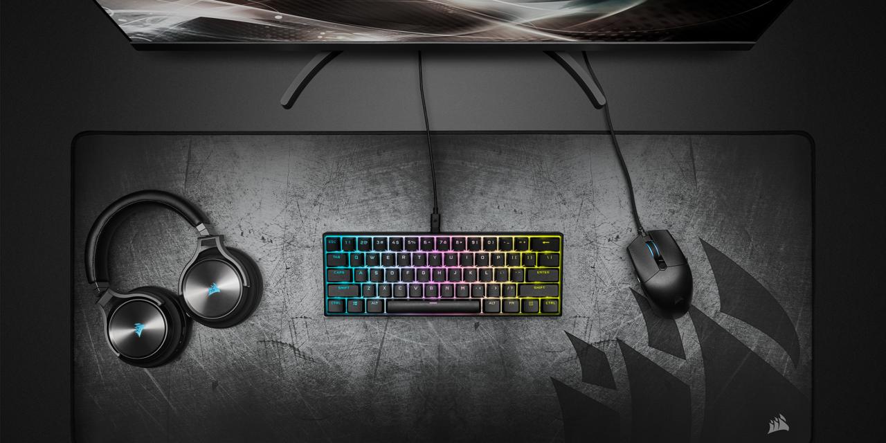 Comienza tu racha ganadora con los teclados K55 RGB PRO y K55 RGB PRO XT