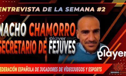 Entrevistamos a Nacho Chamorro, secretario de la Federación Española de Jugadores de Videojuegos e eSports
