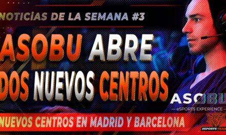 Noticias eSports España: Asobu abre dos nuevos centros de eSports en Madrid y Barcelona