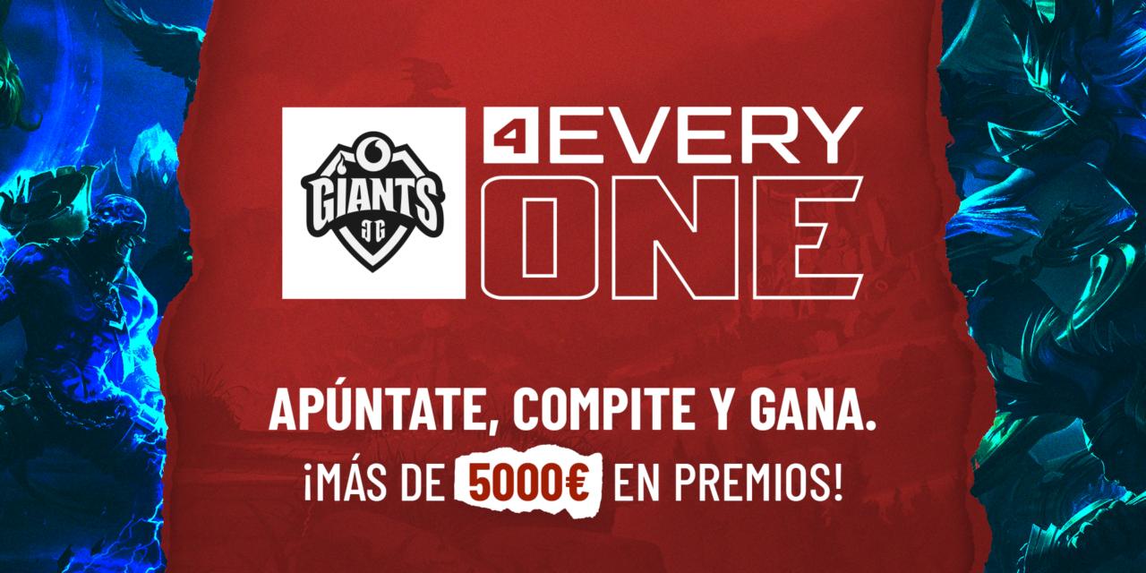 Nace 'Vodafone Giants 4 Everyone', un proyecto para impulsar la participación de mujeres en los eSports