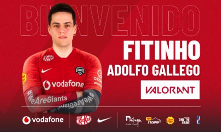 Fitinho vuelve al roster de Valorant de Vodafone Giants