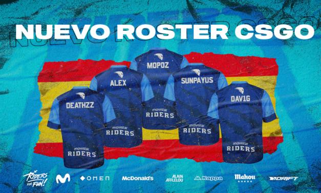 Movistar Riders presenta su nuevo proyecto de CS:GO