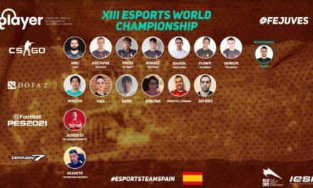 España ya tiene a sus representantes para el mundial de esports